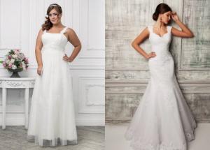 Свадебные платья больших, маленьких размеров: не волнуйтесь, все найдется!