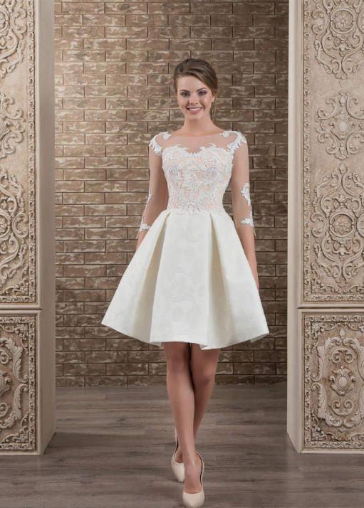 Свадебное платье «Короткое» BL-0331