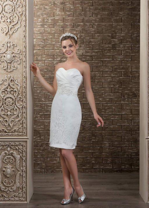 Свадебное платье «Короткое» BL-0330