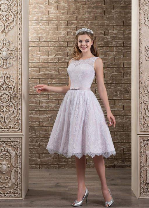 Свадебное платье «Короткое» BL-0327