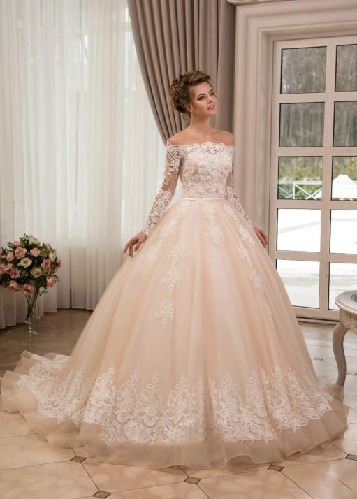 Свадебное платье «Пышное» BL-0900