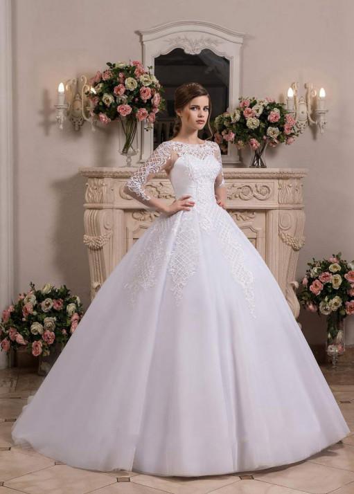 Свадебное платье «Пышное» BL-0901
