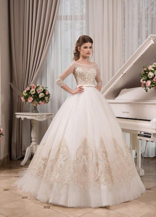 Свадебное платье «Пышное» BL-0902