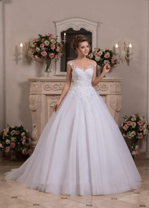 Свадебное платье «Пышное» BL-0903