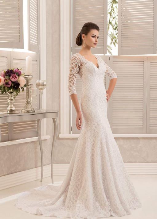 Свадебное платье «Рыбка» BL-0904