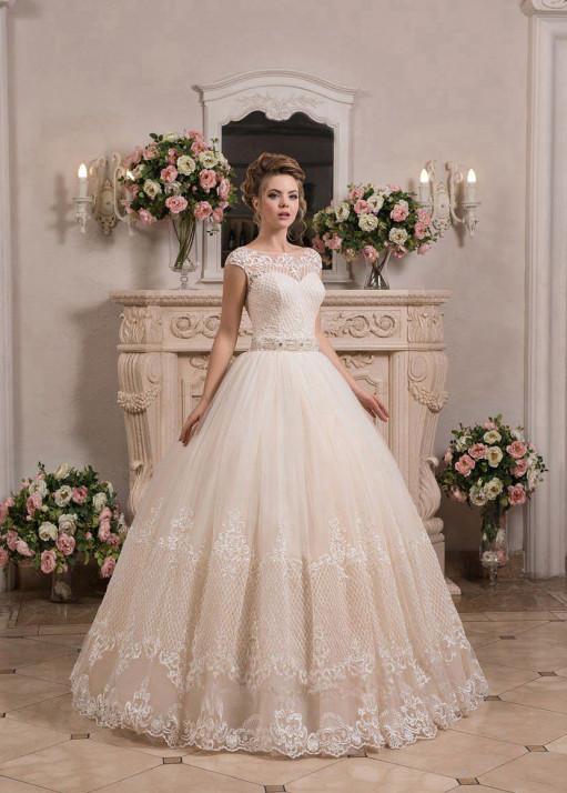 Свадебное платье «Пышное» BL-0907