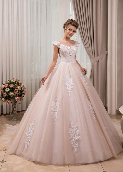 Свадебное платье «Пышное» BL-0908