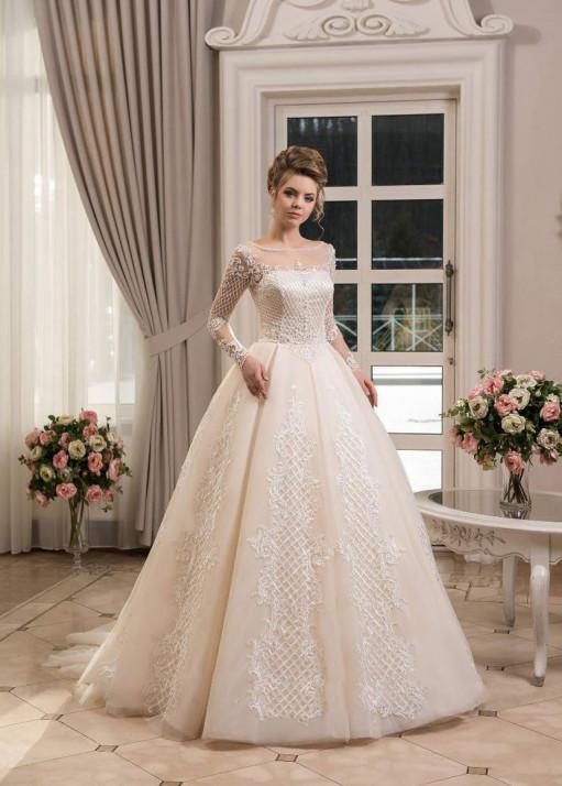 Свадебное платье «Пышное» BL-0909