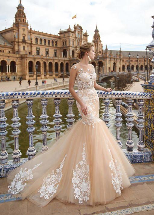 Свадебное платье «Рыбка»  BL-18-767