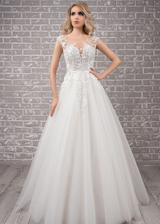 Свадебное платье силуэта BL-19-479