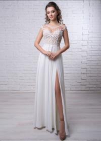 Свадебное платье «А-силуэт» BL-19-087 напрокат