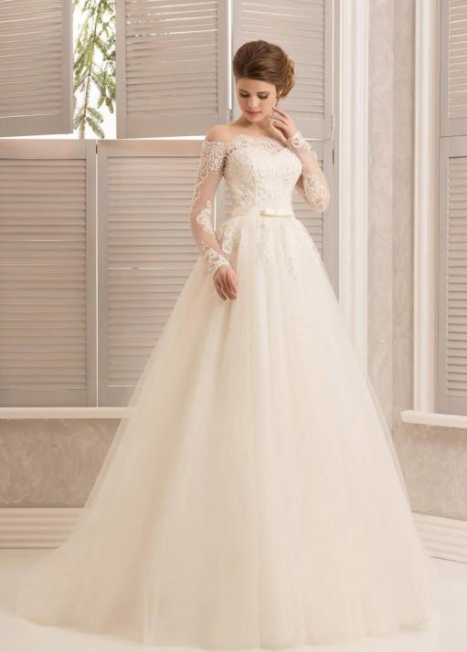 Свадебное платье напрокат-BL-547