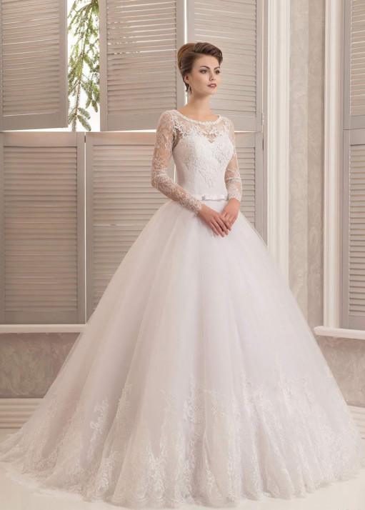 Свадебное платье напрокат-BL-560