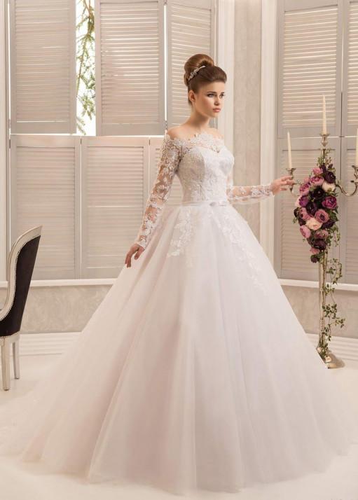Свадебное платье напрокат-BL-579