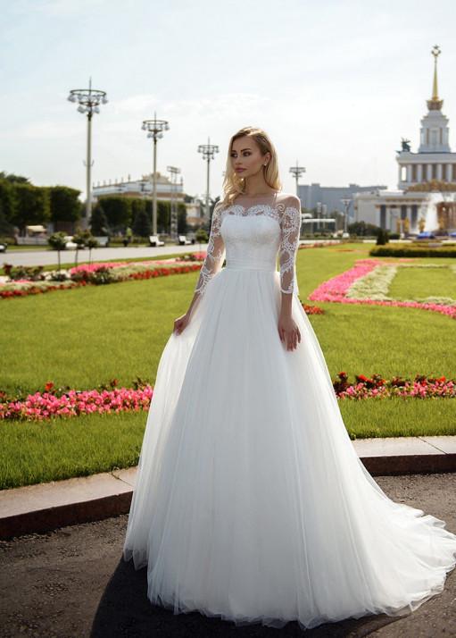 Свадебное платье напрокат BL-5-165