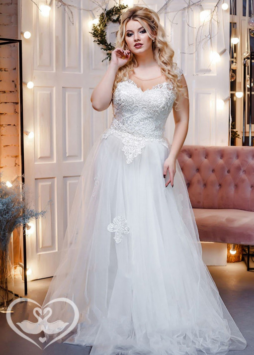 Свадебное платье напрокат PL-0180