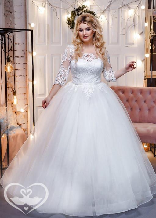 Свадебное платье напрокат PL-0224