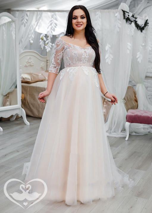 Свадебное платье напрокат PL-0186