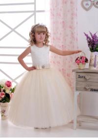 Детское платье напрокат D-049