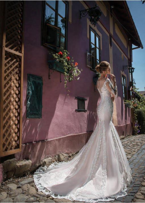 Свадебное платье BL-18-729