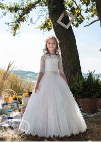 Детское платье пышное D-18-500
