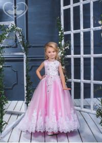 Детское платье пышное D-17-100
