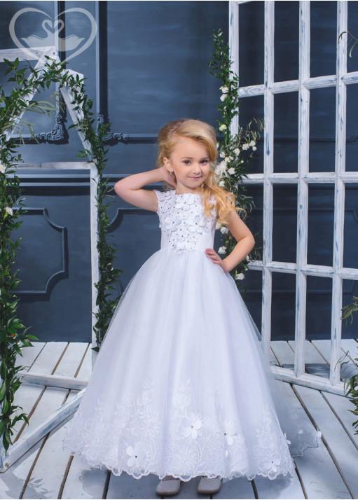 Детское платье пышное D-17-109