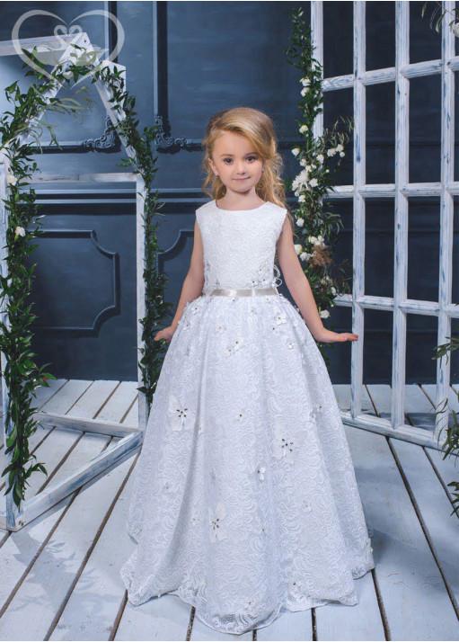 Детское платье пышное D-17-111